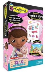 New! Colorforms Doc McStuffins Create a Story Re-Stickable PlaySet in Chicago, Illinois
