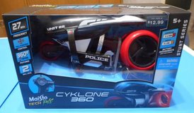 (G7) Maisto Tech R/C Cyklone 360 Motorcycle (New) in Tomball, Texas