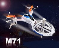 New! Lightning Fast Mini RC Quadcopter M71 Remote Control Spacecraft in Chicago, Illinois