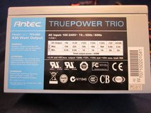Antec TP3-430 TRUEPOWER TRIO 430 WATT PC Power Supply EXCELLENT in Chicago, Illinois