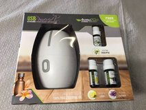 Aroma diffuser with oils brand new in Lockport, Illinois