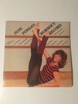 jane fonda's workout record double lp vinyl album in Plainfield, Illinois