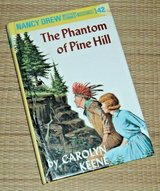 Vintage Nancy Drew Mystery #42 The Phantom of Pine Hill Hard Cover Book  Age 8 - 12 * Grade 3rd ... in Yorkville, Illinois