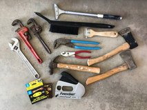 Pipe Wrenches, Scrapers, Axes, Power Shot Staple Gun & more in Camp Pendleton, California
