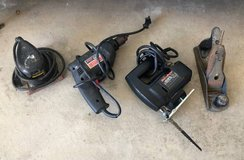 Electric Sander and Jig Saw, Electric Drill & Planer in Camp Pendleton, California