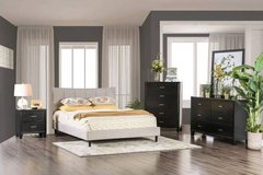 New! Beige Ennis TWIN FULL or QUEEN Size Frame FREE DELIVERY start in Camp Pendleton, California