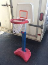 Kids basketball hoop in Oswego, Illinois