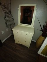 Cute Vintage Small Dresser and Mirror in Phoenix, Arizona