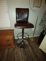 Brown Bar Stool with Chrome Base in Phoenix, Arizona