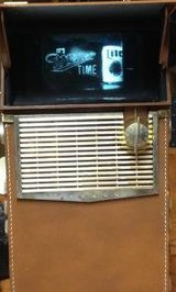FIRST TRANSISTOR, BATTERY-POWERED PORTABLE TV! in Bolingbrook, Illinois