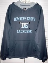 Like New! Downers Grove LaCrosse Champion Pullover Hoodie Jacket in Orland Park, Illinois