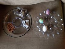 New glass base appetizer/egg tray in Camp Pendleton, California