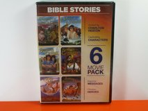 NEW Bible Stories 6 Movie Pack DVD Children & Family in Chicago, Illinois