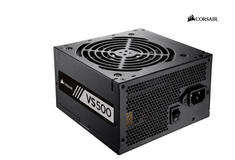Brand New Corsair VS Series, VS500, 500 Watt 500W, Active PFC, 80 PLUS Power Supply PSU in Plainfield, Illinois