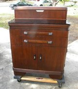 Price drop! Antique Doctors Cabinet with glass top! in Camp Lejeune, North Carolina