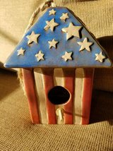 Cute new small birdhouse for small birds in Camp Pendleton, California