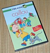 NEW PBS Kids Caillous Family Fun DVD Features Coloring Pages & Interactive Games in Oswego, Illinois
