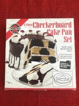 Checkerboard Cake pan set in Westmont, Illinois