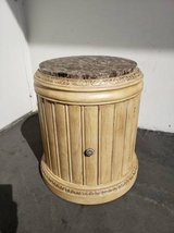 Round French Provincial Side Cabinet in Camp Pendleton, California
