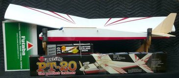 """52"""" R/C Airplane w/4 Channel Controller Field Boxes etc in Naperville, Illinois"""