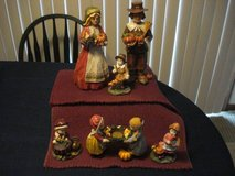 pilgrim family tabletop display NEW With Tags in Aurora, Illinois