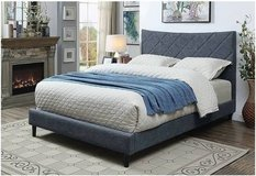 New! Blue Linen FULL | QUEEN | KING BedFrame FREE DELIVERY starting in Camp Pendleton, California