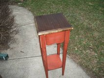REDUCED....TABLE TALL ALL WOOD PIER 1 in Tinley Park, Illinois