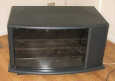 Used TV / Component Stand - Glass Front in Bolingbrook, Illinois