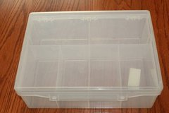 Plastic Case with Six Trays for Parts in Spring, Texas