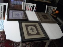 HOBBY LOBBY CROSS PICTURES SET OF THREE in Westmont, Illinois