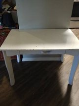 White Solid Wood Child's Desk in need of TLC in Phoenix, Arizona