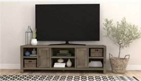 """TV Stand Cabinet for Most TVs Up to 75"""" - Barnwood in Chicago, Illinois"""