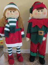 Set of Christmas Elves in Algonquin, Illinois