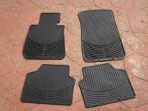 2008 BMW Xi Heavy Rubber Floor Mat Set of Four in Algonquin, Illinois