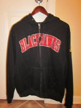Blackhawk Embroidered Hoodied Zip Up Sweatshirt in Algonquin, Illinois