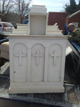 Antique Mini Church Pulpit in Fort Campbell, Kentucky
