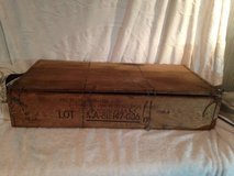 Wood Military Ammo or Morter box in Fort Campbell, Kentucky