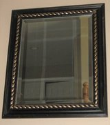 "Wood Framed Mirror - Beveled Glass - 21"" x 25"" in Naperville, Illinois"