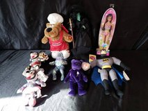 8 Dolls: Mickey, Minnie, Beanie Baby, Batman, Barbie & more in Camp Pendleton, California