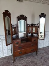 Antique Cherry Dressing Table in Camp Pendleton, California