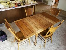 Vintage Dining Table & 4 Chairs in Camp Pendleton, California