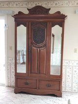 Antique Cherry Wardrobe in Camp Pendleton, California