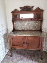 Antique Cherry Wash Stand in Camp Pendleton, California