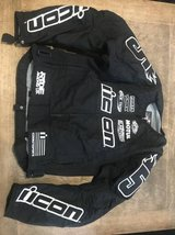 Women's Icon Motorsports Stage 2 Merc Armored Jacket-Size M in Naperville, Illinois