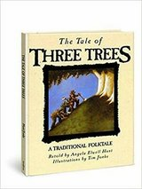 Vintage 1989 The Tale of Three Trees: A Traditional Folktale Hard Cover Book Age 4 - 7 in Oswego, Illinois