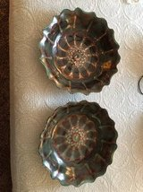 Brown/Blue Decorative Bowls x 2 in Fort Campbell, Kentucky