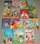 Vintage Lot of 15 Walt Disney Classics Wonderful World of Reading Hard Cover Books in Chicago, Illinois