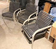 3 Patio / Deck / Sunroom Chairs - Aluminum Frames in Naperville, Illinois
