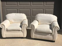 Set of fabric chairs good condition in Naperville, Illinois
