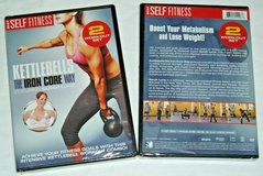 NEW Kettlebells The Iron Core Way DVD Workout Combo with Sarah Lurie in Joliet, Illinois